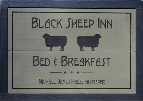 Bed and Breakfast Signs to customize.